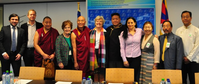 Participation of Ms Madi Sharma at the meeting with the delegation of the Tibetan – Parliament – In Exile
